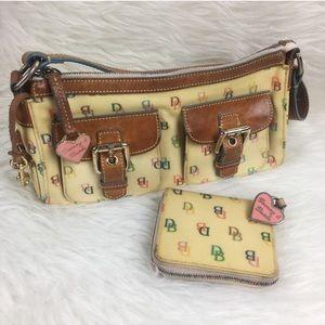 Dooney & Bourke   Vintage Shoulder Bag and Wallet